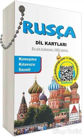 Delta Kültür Basım Yayın - Rusça Dil Kartları