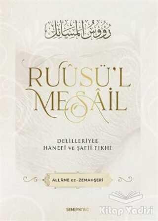 Semerkand Yayınları - Ruusü'l Mesail