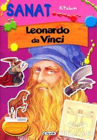 Çiçek Yayıncılık - Sanat Kitabım - Leonardo da Vinci