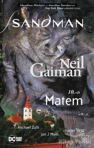 İthaki Yayınları - Sandman 10: Matem