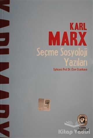 Cem Yayınevi - Seçme Sosyoloji Yazıları