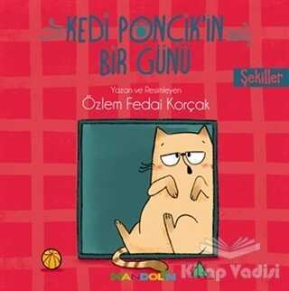 Mandolin Yayınları - Şekiller - Kedi Ponçik'in Bir Günü