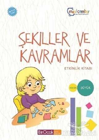 Bir Ocak Yayınları - Özel Ürün - Şekiller ve Kavramlar Etkinlik Kitabı (48 Ay ve Üzeri) - Mavi Çember Okul Öncesi Eğitim