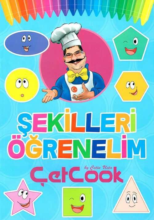 ÇetCook Yayınları - Şekilleri Öğrenelim