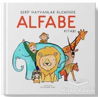 Uçan Kitap - Şerif Hayvanlar Aleminde Alfabe Kitabı