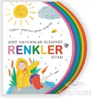 Uçan Kitap - Şerif Hayvanlar Aleminde - Renkler Kitabı