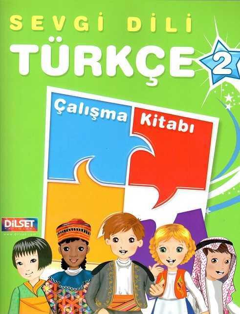 Dilset Sevgi Dili Türkçe Eğitim - Sevgi Dili Türkçe Çalışma Kitabı 2