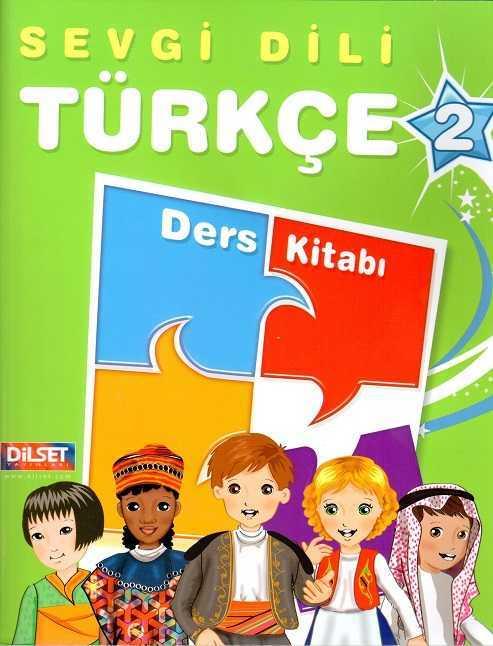 Dilset Sevgi Dili Türkçe Eğitim - Sevgi Dili Türkçe 2 Ders Kitabı
