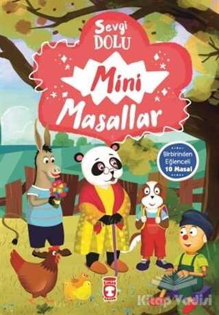 Timaş Çocuk - Sevgi Dolu Mini Masallar - 1 (10 Kitap Takım)
