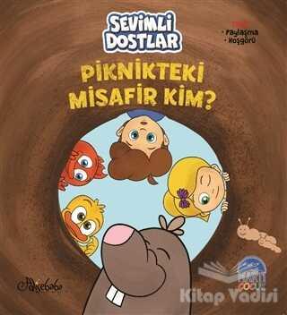 Martı Çocuk Yayınları - Sevimli Dostlar - Piknikteki Misafir Kim?