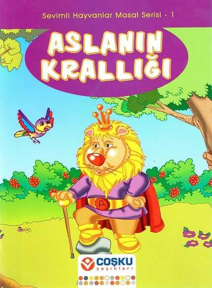Coşku Yayınları - Sevimli Hayvanlar Masal Serisi 1 (10 Kitap)