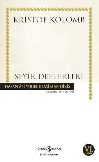 İş Bankası Kültür Yayınları - Seyir Defterleri