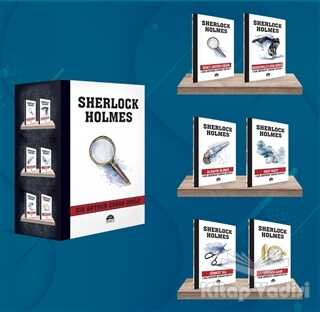 Martı Yayınları - Sherlock Holmes - Büyüteç (6 Kitap Kutulu Set)