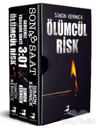 Olimpos Yayınları - Simon Kernick Seti - Geri Sayım Başladı (3 Kitap Takım)
