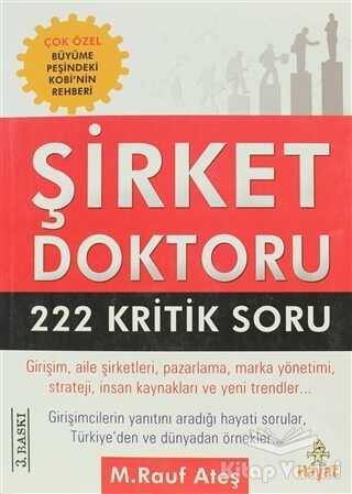 Hayat Yayınları - Şirket Doktoru 222 Kritik Soru