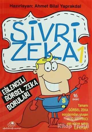 Uğurböceği Yayınları - Sivri Zeka Eğlenceli Görsel Zeka Soruları