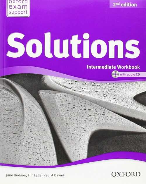 Oxford University Press - Solutions: Intermediate: Workbook and Audio CD Pack