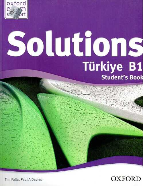 Oxford University Press - Solutions Türkiye B1 Students Book