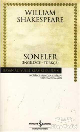 İş Bankası Kültür Yayınları - Soneler (İngilizce-Türkçe)