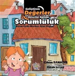 Parmak Çocuk Yayınları - Sorumluluk - Bizim Evde Herkes İşini Yapar