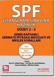Akademi Consulting & Training - SPF LSH DÜZEY 2-3 GENİŞ KAPSAMLI SERMAYE PİY.MEVZ.VE MESLEK KURALLARI Akademi yay.