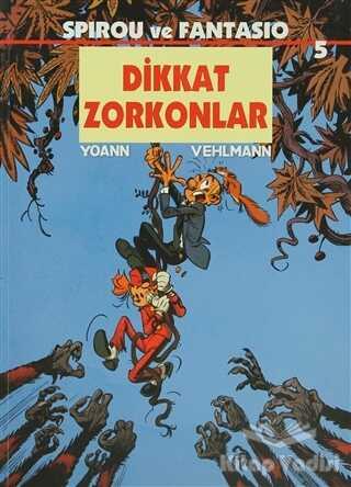 Desen Yayınları - Spirou ve Fantasio 5 - Dikkat Zorkonlar