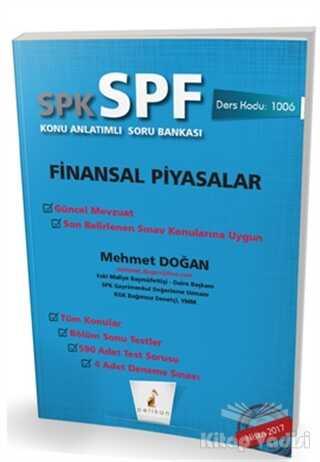 Pelikan Tıp Teknik Yayıncılık - SPK - SPF Finansal Piyasalar Konu Anlatımlı Soru Bankası