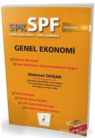 Pelikan Tıp Teknik Yayıncılık - SPK - SPF Genel Ekonomi Konu Anlatımlı Soru Bankası