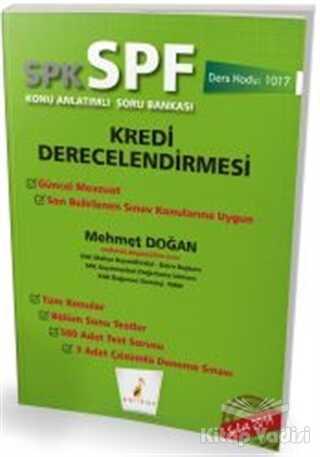 Pelikan Tıp Teknik Yayıncılık - SPK - SPF Kredi Derecelendirmesi Konu Anlatımlı Soru Bankası