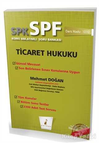 Pelikan Tıp Teknik Yayıncılık - SPK - SPF Ticaret Hukuku Konu Anlatımlı Soru Bankası