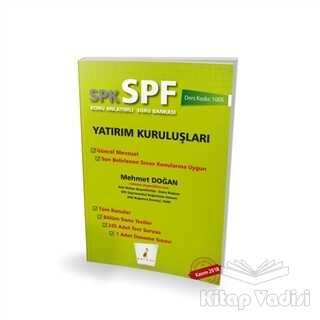 Pelikan Tıp Teknik Yayıncılık - SPK - SPF Yatırım Kuruluşları Konu Anlatımlı Soru Bankası