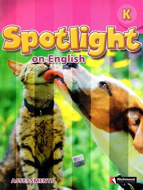 Richmond Publishing - Spotlight On English K Student Assessments