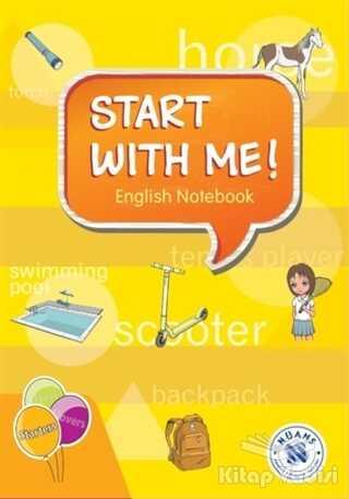 Nüans Publishing - Start with Me! English Notebook