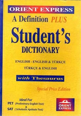 ORİENT PRESS - STUDENTS DICTIONARY SPECIAL Orient Press