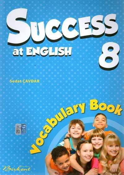 Birkent Yayınları - Success at English 8 Vocabulary Book