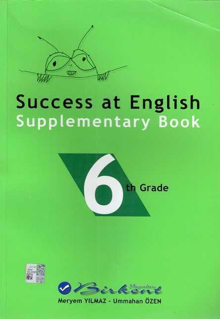 - Success At English Supplementary Book 6 Th Grade (6. Sınıf İngilizce Türkçe Konu Anlat
