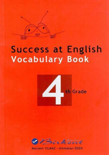 Birkent Yayınları - Success at English Vocabulary Book 4 th Grade