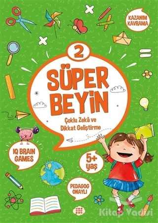 Dokuz Yayınları - Süper Beyin 2 (5+ Yaş)