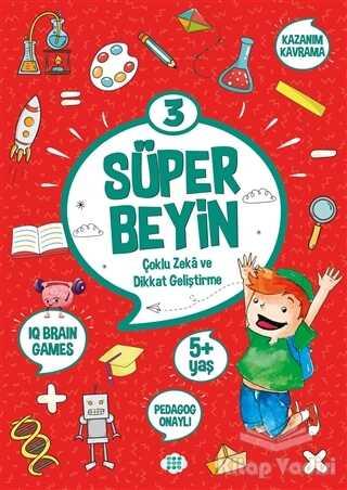 Dokuz Yayınları - Süper Beyin 3 (5+ Yaş)