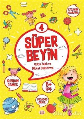 Dokuz Yayınları - Süper Beyin 4 (5+ Yaş)