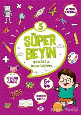 Dokuz Yayınları - Süper Beyin 5 (5+ Yaş)