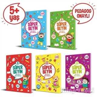Dokuz Yayınları - Süper Beyin Serisi (5+ Yaş) (5 Kitap Takım)