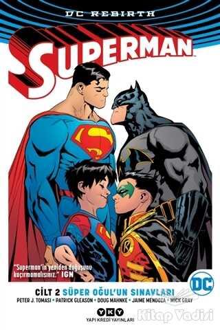 Yapı Kredi Yayınları - Süper Oğul'un Sınavları - Superman Cilt 2