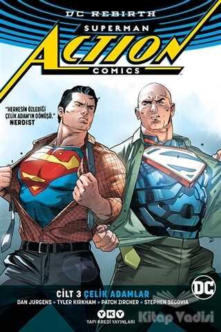 Yapı Kredi Yayınları - Superman Action Comics Cilt 3: Çelik Adamlar