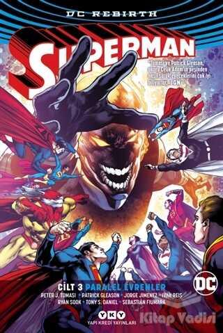 Yapı Kredi Yayınları - Superman Cilt 3 - Paralel Evrenler (Rebirth)