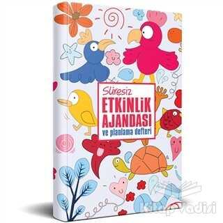 Halk Kitabevi - Hobi - Süresiz Etkinlik Ajandası ve Planlama Defteri - Neşeli Hayvanlar