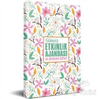 Halk Kitabevi - Hobi - Süresiz Etkinlik Ajandası ve Planlama Defteri - Yaz Bahçesi