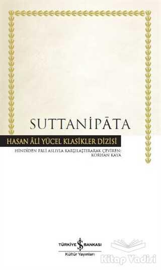 İş Bankası Kültür Yayınları - Suttanipata