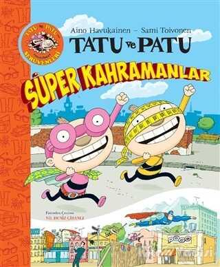 Pogo Çocuk - Tatu ve Patu Süper Kahramanlar