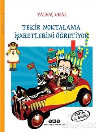 Yapı Kredi Yayınları - Tekir Noktalama İşaretlerini Öğretiyor